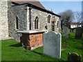 TQ6073 : The Churchyard of St Peter and St Paul, Swanscombe by Ian Yarham