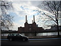 TQ2877 : View of Battersea Power Station from the Embankment #4 by Robert Lamb