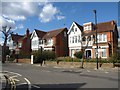 TQ1881 : Houses on Woodville Road, Ealing by Derek Harper