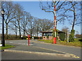 SJ6594 : Entrance Lodge, Taylor Business Park by David Dixon