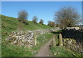 SK2167 : Footpath to Bakewell by Andrew Hill