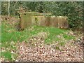 SE0022 : Stone cistern in Bank Top Wood by Humphrey Bolton