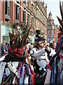 SE3033 : Colourful dancers, Leeds by Chris Allen