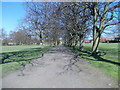 SE2041 : Pathway - Kirk Lane Park by Betty Longbottom
