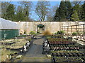 NT0573 : Walled garden at Binny House by M J Richardson
