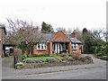 SJ8463 : Impressive porch by Richard Dorrell