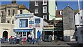 TQ8209 : Fish Shop and Restaurant, Rock-a-Nore Road by Oast House Archive