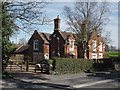 SO7492 : Fine semi-detached houses at Stanmore, Shropshire by Roger  Kidd