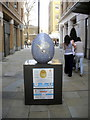 TQ2778 : Egg 50 in The Faberg&eacute; Big Egg Hunt by PAUL FARMER