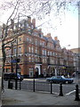 TQ2778 : Junction of Sloane Avenue and Sloane Square by PAUL FARMER