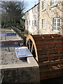 SK3289 : Water wheel, Malin Bridge Corn Mill by Alan Murray-Rust
