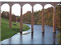 NT5734 : Leaderfoot Viaduct over River Tweed by Douglas Nelson