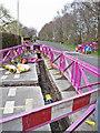 SJ8463 : Gas main renewal works, Back Lane by Richard Dorrell