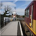 TF4760 : Railway Station, Thorpe Culvert by Dave Hitchborne