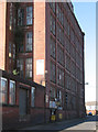 SD7306 : Moses Gate - Bolton Textile Mill - Cawdor Street frontage by Dave Bevis