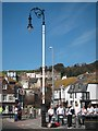 TQ8209 : Lamppost on Rock-a-Nore Road by Oast House Archive