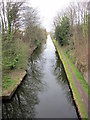 SP1284 : Grand Union Canal Looking East From Stockfield Road by Roy Hughes