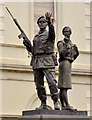 J2664 : UDR memorial sculpture, Lisburn (1) : Week 15