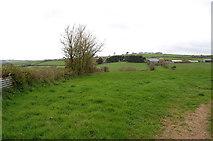 SS2202 : Farmland near Burn's Hill by Julian P Guffogg