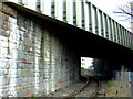 ST5872 : Cumberland Road railway bridge : Week 14