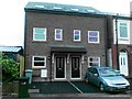 SJ9273 : Two new houses, Canal Street, Macclesfield by Alex McGregor