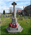 SO8421 : Twigworth War Memorial  by John Grayson