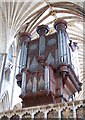 SX9292 : Organ in Exeter Cathedral (West aspect) by Julian P Guffogg