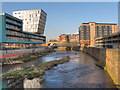 SK3587 : River Don, Sheffield by David Dixon