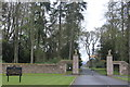 NO3846 : Entrance to Glamis Castle by Roger Davies