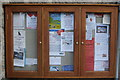 NJ9925 : Community Noticeboard, Newburgh by Bill Harrison