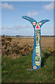 NJ0461 : National Cycle Network Sign by Anne Burgess