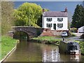 SJ5136 : House beside Platt Lane Bridge, Llangollen Canal by David Martin