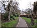 NZ2465 : A public footpath in Jesmond by Ian S