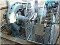 ST2428 : Hestercombe Gardens - water turbine by Chris Allen