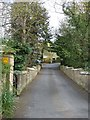 NY9363 : Driveway to Hackwood House and the Paddock by Oliver Dixon