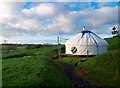 H9941 : Yurt near Markethill by Rossographer