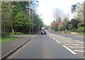 SJ4567 : A51 west passing Vicars Cross by John Firth