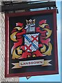 TQ4109 : Landown Arms sign by Oast House Archive