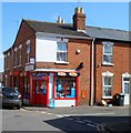 SO8318 : Old-style corner shop, Gloucester by John Grayson