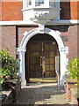 TQ2682 : Entrance door to 17-32 Grove End House by Oast House Archive