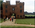 TQ5264 : Lullingstone Castle gatehouse by Jo Turner