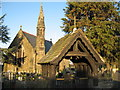 SJ3775 : St John the Evangelist Church and Lychgate by Sue Adair