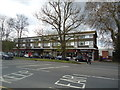 TL4501 : Shops and flats, High Street, Epping by Stacey Harris