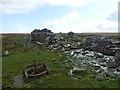 ND2438 : Ruins of Braedmarloch croft, Smerlie, Caithness by Claire Pegrum