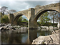 SD6178 : The Lune at Devil's Bridge, Kirkby Lonsdale by Karl and Ali