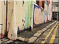 J3374 : Corner protection, Belfast (12) by Albert Bridge
