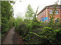 SJ7254 : The Crewe Business Park Nature Trail by Ian S