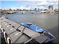 TQ3080 : Boat on the Thames by Oast House Archive