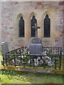 NS3692 : Memorial in Luss Churchyard by David Dixon