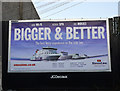 J5081 : Advertisement, Bangor by Rossographer
